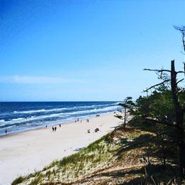 Bliskość morza i wydm